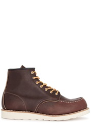 Red Wing Shoes Classic Moc Dark Brown Leather Boots