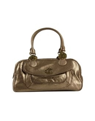 Just Cavalli Large Leather Bags Bronze