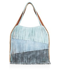 Big Buddha Fringe Hobo Bag Compare At 95 Blue Multi