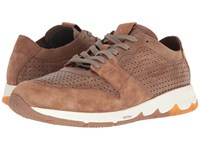 Hush Puppies Ts Field Sprint Brown Leather Lace Up Casual Shoes