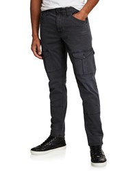 Prps Savoy Fit Twill Cargo Pants Gray