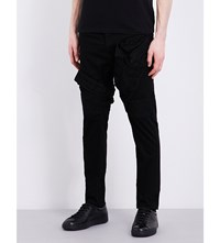 Julius Regular Fit Mid Rise Jeans Black
