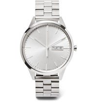 Uniform Wares C40 Stainless Steel Watch Silver