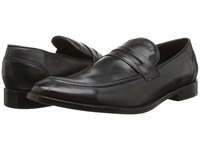 Fitzwell Momo Black Tequila Leather Men's Dress Flat Shoes