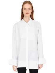 Balossa Long Cotton Poplin Shirt