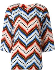 Kenzo Chevron Top Multicolour