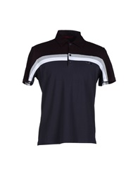 Prada Sport Polo Shirts Dark Blue