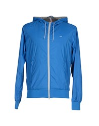 Sun 68 Coats And Jackets Jackets Men Blue