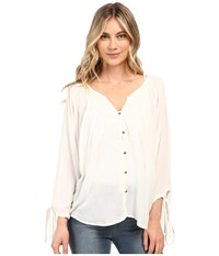 Roxy Sunset Smooch Top Pristine Women's Clothing Neutral