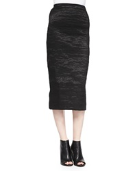 Donna Karan Pull On Stretch Pencil Skirt