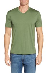 Ibex Men's 'Axis' V Neck Merino Wool Jersey T Shirt High Line