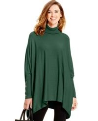 Alfani Turtleneck Poncho Sweater Only At Macy's Pure Pine