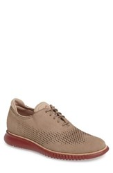 Cole Haan Men's '2.0 Grand' Plain Toe Oxford Mahogany Red