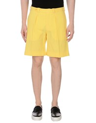 Carven Bermudas Yellow
