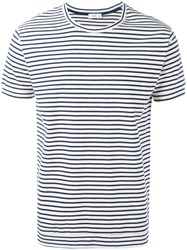 Closed Breton Stripe T Shirt Blue