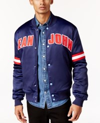 Sean John Men's Bomber Jacket Patriot Blue