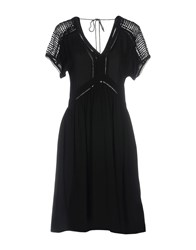 Suncoo Short Dresses Black