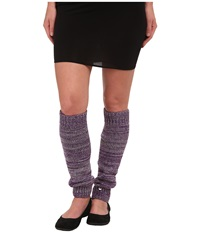 Ugg Classic Marled Leg Warmer Grey Heather Multi Women's Knee High Socks Shoes Gray