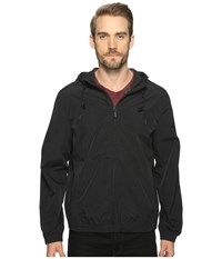 Marc New York Rogers Hooded Bomber Jacket Black Men's Coat