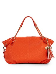 Big Buddha Clove Quilted Faux Leather Tote