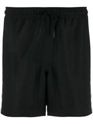 J. Lindeberg J.Lindeberg Banks Stripe Detail Swimming Shorts Black