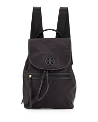 Slouchy Nylon Backpack Black Tory Burch