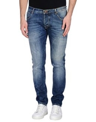 Maison Clochard Denim Pants Blue