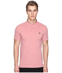 The Kooples Sport New Shiny Pique Polo Pink Men's Clothing