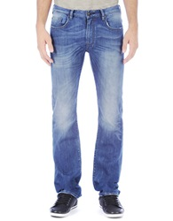 Buffalo David Bitton Stretch Bootcut Jeans Blue