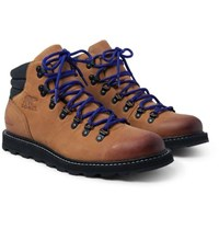 Sorel Madson Hiker Waterproof Leather And Rubber Trimmed Nubuck Boots Tan