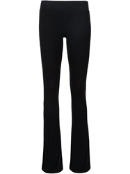 Atm Flared Trousers Black