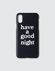 Have A Good Time Night Iphone Case X Xs Black
