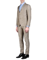 Massimo Rebecchi Suits And Jackets Suits Men Khaki