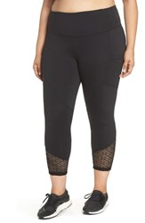 Marika Plus Size Curves Evie Capri Leggings Black