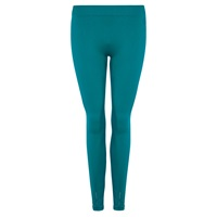 Pepper And Mayne Cut Out Detail Legging Teal Green