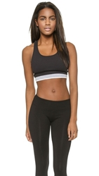 Solow Rib Crop Top Black