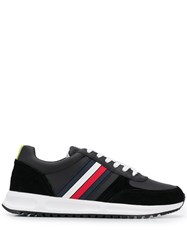 Tommy Hilfiger Lace Up Trainers Black
