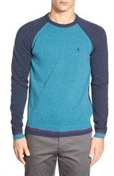 Men's Original Penguin Raglan Crewneck Sweater