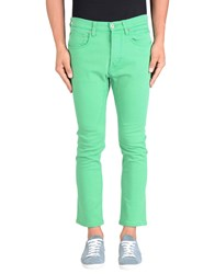 Dandg Denim Denim Trousers Men Green
