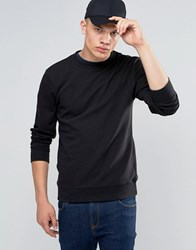 Another Influence Ribbed Sweater Black