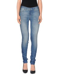 Selected Femme Denim Denim Trousers Women Blue