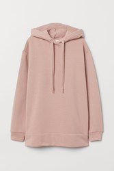 76b1f323c976 Handm H M Oversized Hooded Top Pink