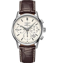Longines L2.749.4.72.2 Flagship Stainless Steel Chronograph Watch