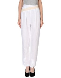 Malloni Casual Pants White