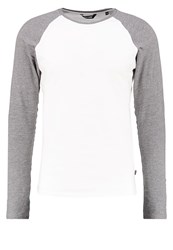 Only And Sons Onspoyraz Long Sleeved Top Cloud Dancer Light Grey
