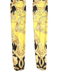 Versace Printed Lycra Socks Multicolor