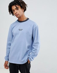Volcom Noa Noise Sweatshirt With Embroidered Logo In Blue