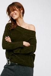 Free People Womens Alana Chenille Pullover