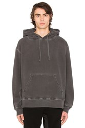 Yeezy Relaxed Fit Hoodie Charcoal