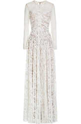 Elie Saab Floor Length Lace Gown